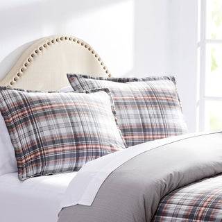 City Scene Hill Top Plaid Cotton Comforter Set