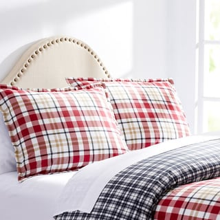 City Scene Brandon Plaid Cotton Comforter Set