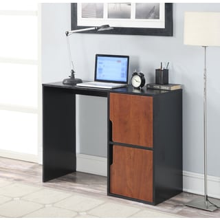 Convenience Concepts Designs2Go Student Desk With Storage Cabinets