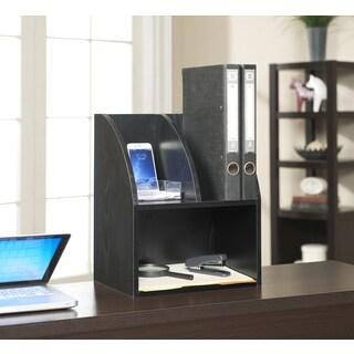 Convenience Concepts Designs2Go Wood Desktop Organizer