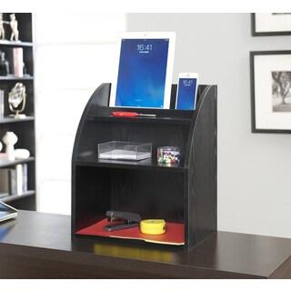 Convenience Concepts Designs2Go Desktop Organizer With Shelf