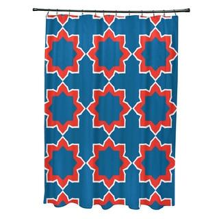 71 x 74-inch Bohemian 2 Geometric Print Shower Curtain