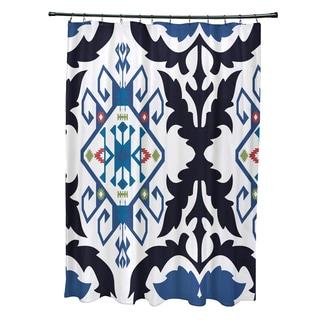 71 x 74-inch Bombay Medallion Geometric Print Shower Curtain