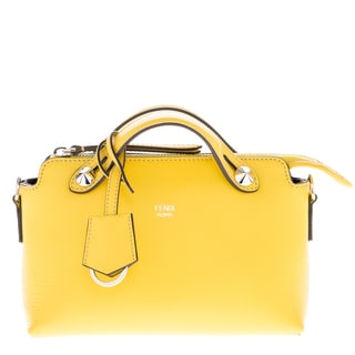 Fendi Mini 'By The Way' Leather Satchel Bag