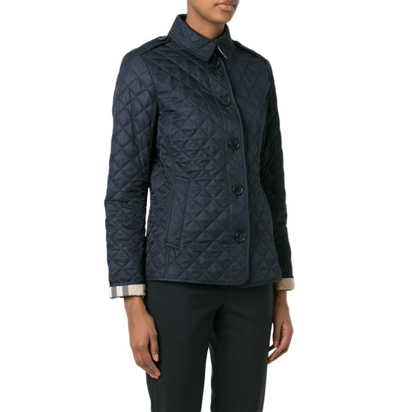 Burberry Ashurst Navy Quilted Lightweight Jacket
