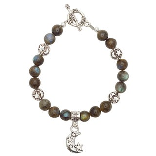 Healing Stones for You Labradorite Celestial Bracelet
