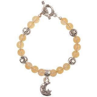 Healing Stones for You Citrine Celestial Bracelet