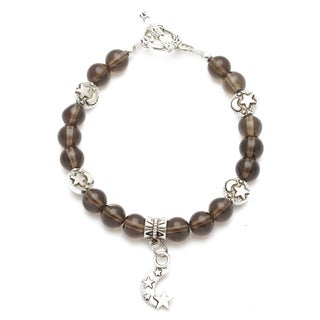 Healing Stones for You Smoky Quartz Celestial Bracelet