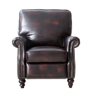 Lazzaro Leather Scardale Arm Recliner