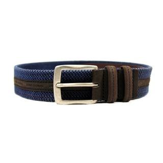 Marina Yachting Women's Blue Textile 36-inch Belt