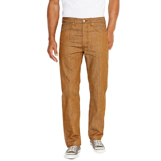 Levi's Men's 501 Brown Straight Leg Jeans