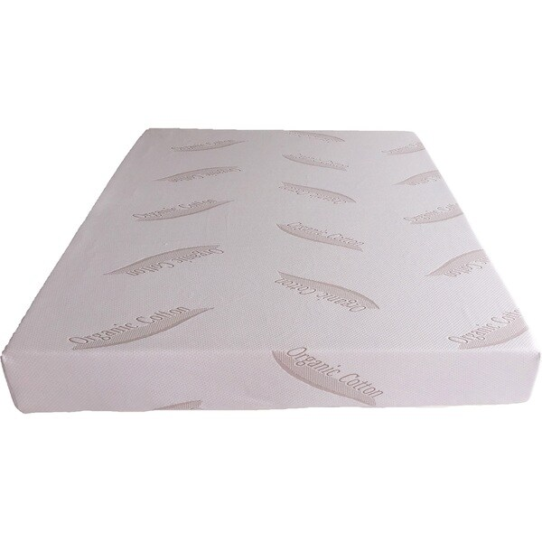 Dual Layered 8-inch Queen-size Memory Foam Mattress