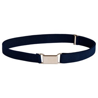 Sportoli Boys' Elastic Square-buckle Belt