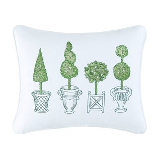 Topiary Accent Pillow