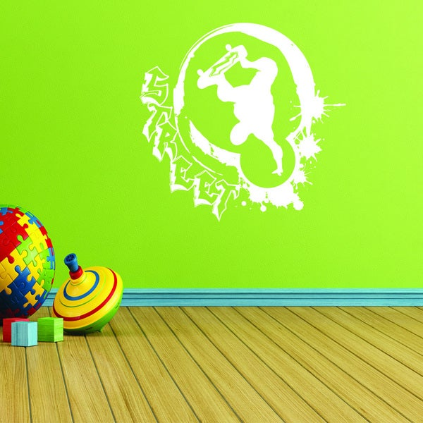 Style and Apply Street Style Skater Vinyl Wall Decal