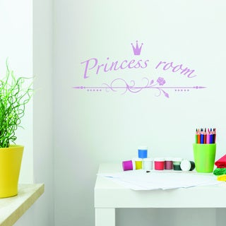 Style and Apply Princess Room Multi-color Vinyl Wall Decal
