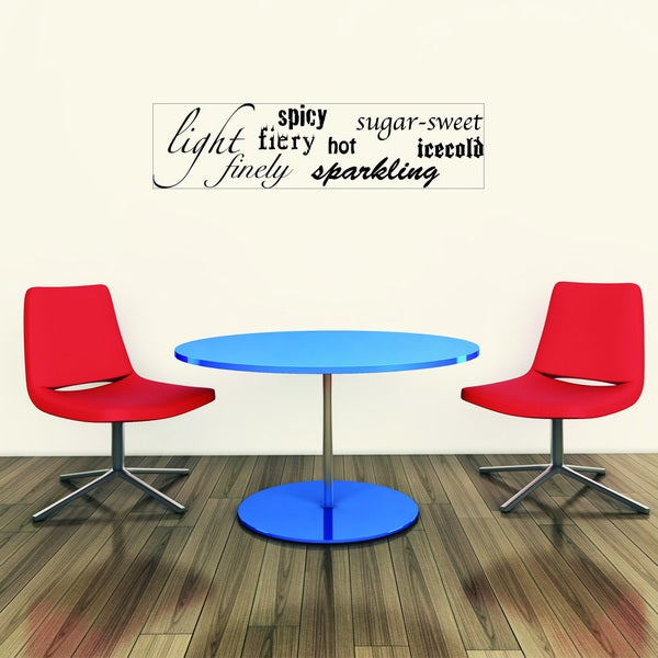 Taste Vinyl Art Wall Decal