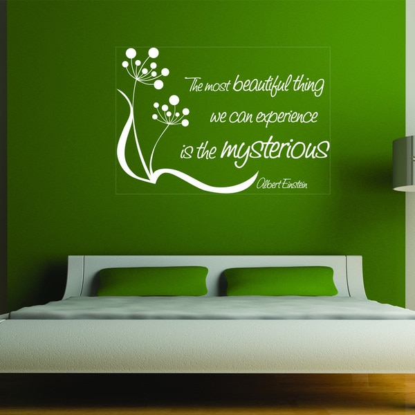 Most Beautiful Thing Vinyl Art Wall Decor