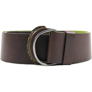 Caractere Women's 34-inch Brown Leather Belt