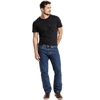 Levi's Men's Dark Blue Cotton 5-pocket Carpenter Jeans
