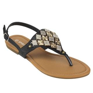 Spirit Moda Women's Slingback Flat Sandals