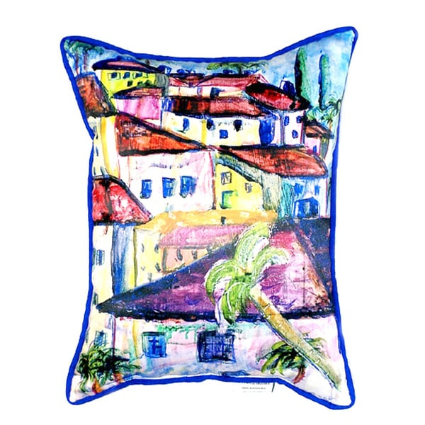 Fun City II 20-inch x 24-inch Throw Pillow