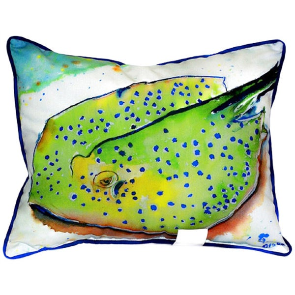Stingray 16-inch x 20-inch Throw Pillow