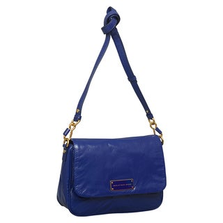 Marc by Marc Jacobs Too Hot to Handle Lea Bright Royal Leather Shoulder Bag