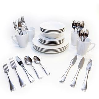Oneida Kato/Surge Dinnerware and Flatware Bundles