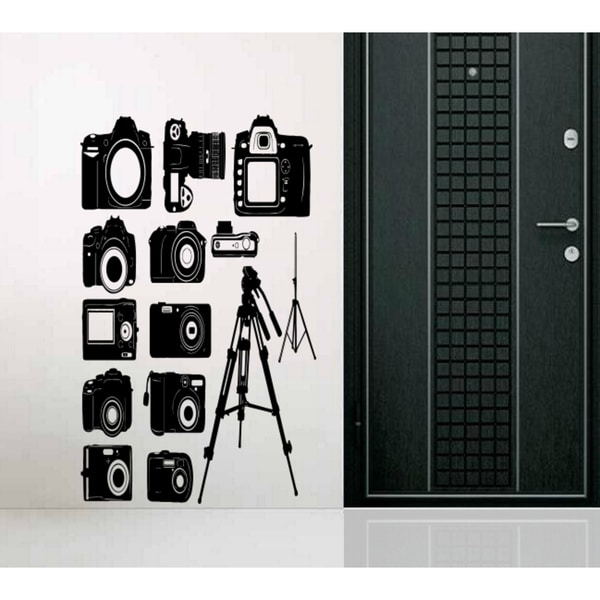 Camera the photo camcorder survey Wall Art Sticker Decal