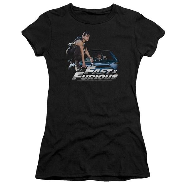 Fast & Furious/Car Ride Junior Sheer in Black