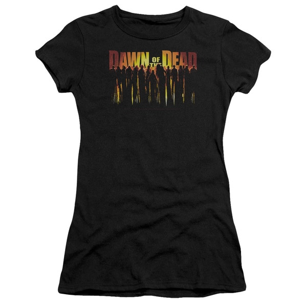 Dawn Of The Dead/Walking Dead Junior Sheer in Black