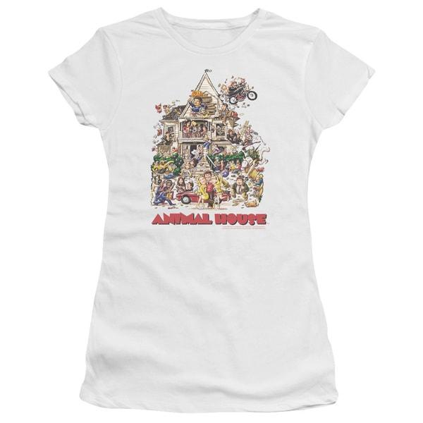 Animal House/Poster Art Junior Sheer in White