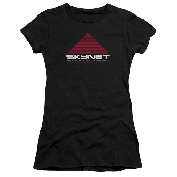 Terminator 2/Skynet Junior Sheer in Black