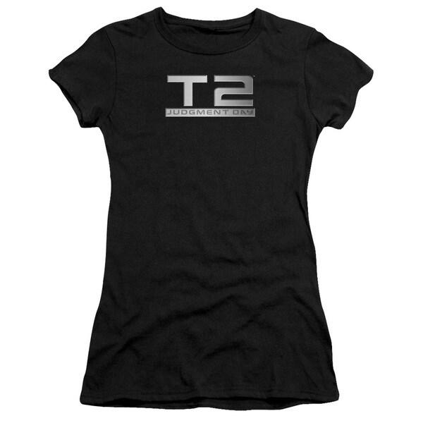 Terminator 2/Logo Junior Sheer in Black