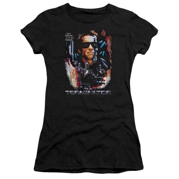 Terminator/Your Future Junior Sheer in Black