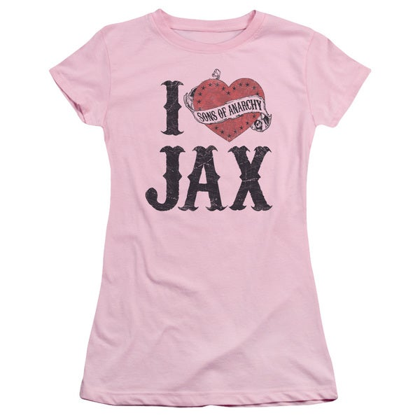 Sons Of Anarchy/I Heart Jax Junior Sheer in Pink
