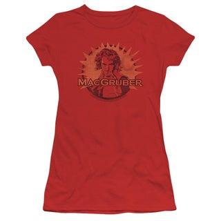 SNL/Macgruber Junior Sheer in Red