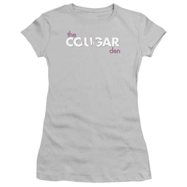 SNL/Cougar Den Logo Junior Sheer in Silver