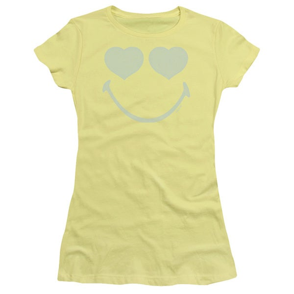 Smiley World/Eyes For You Junior Sheer in Banana in Banana