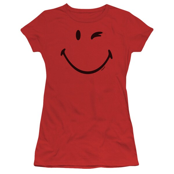 Smiley World/Big Wink Junior Sheer in Red in Red