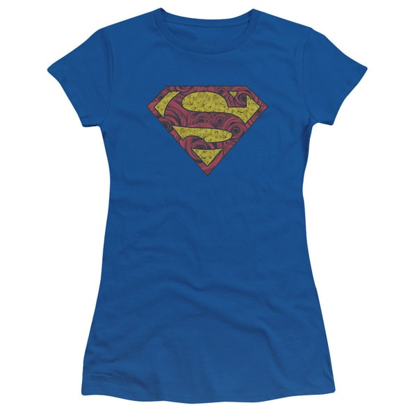Superman/Rosey Shield Junior Sheer in Royal in Royal Blue