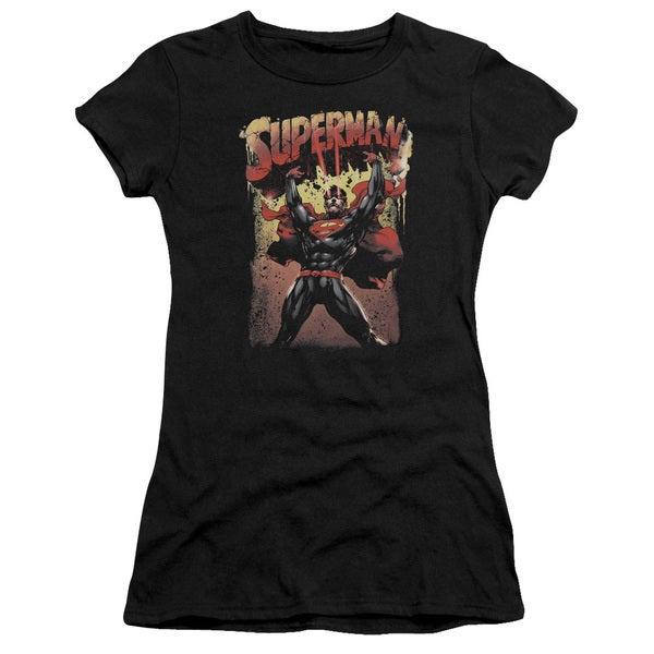 Superman/Lift Up Junior Sheer in Black
