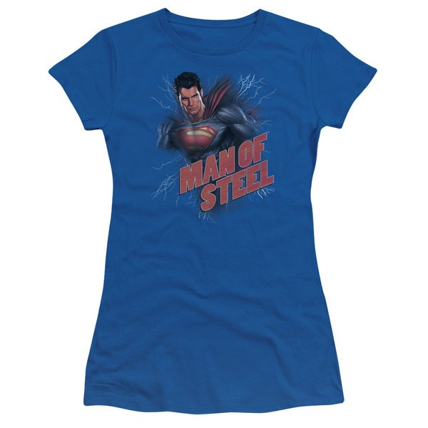 Man Of Steel/Lightning Power Junior Sheer in Royal