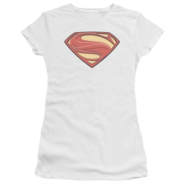 Man Of Steel/New Solid Shield Junior Sheer in White