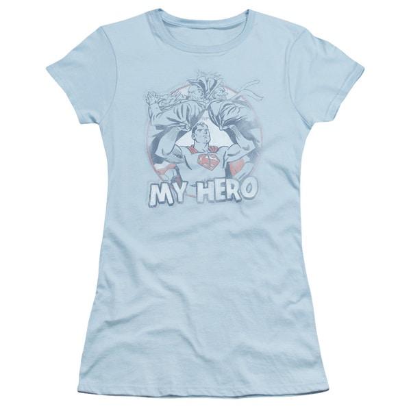 Superman/My Hero Junior Sheer in Light Blue