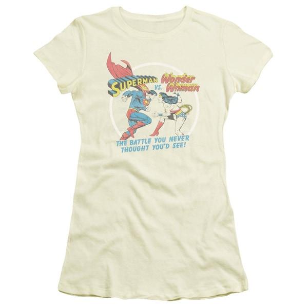 Superman/Battle Of The Sexes Junior Sheer in Cream