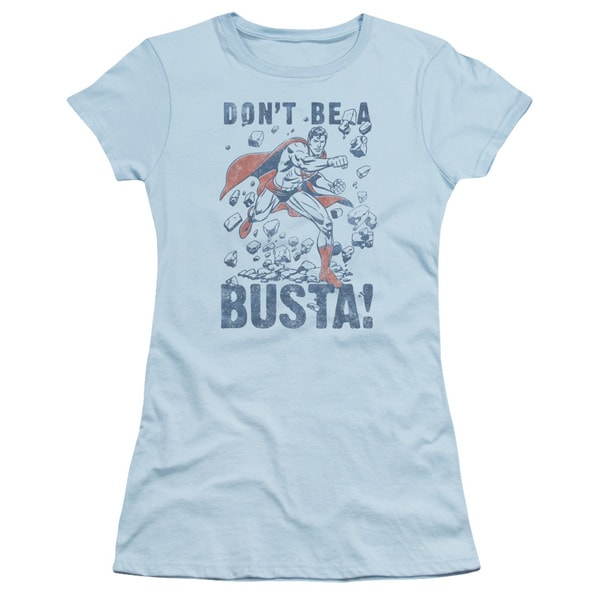 Superman/Busta Junior Sheer in Light Blue