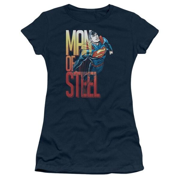 Superman/Steel Flight Junior Sheer in Navy