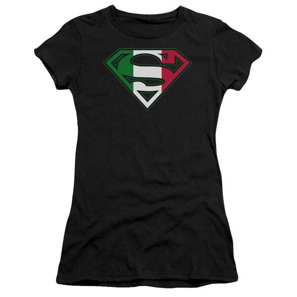 Superman/Italian Shield Junior Sheer in Black